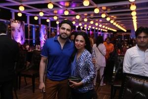 Umair Tabani and Nida Azwer